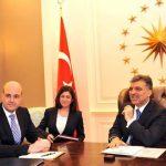 Seher Türkaslan – İsveç Başbakanı Fredrik Reinfeld'in Cumhurbaşkanı Abdullah Gül'ü ziyareti (04.2009)