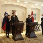 Bilge Has Bıyıklı – Slovenya Dışişleri Bakanı Samuel Zbogar ile Dışişleri Bakanı Ahmet Davutoğlu'nun görüşmesi 2010