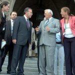 Ceylan Gürman Şahinkaya, Ebru Diriker – TBMM Başkanı Mehmet Ali Şahin, Kanada Senatosu Başkanı Noel Kinsella (Kanada) (2010)