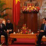 Ceylan Gürman Şahinkaya – Başbakan Yardımcısı Bülent Arınç'ın Vietnam Başbakanı Nguyen Tan Dung ile görüşmesi (2011)