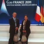 Yiğit Bener, Hande Güner – G20 Zirvesi, Cannes Fransa 2011