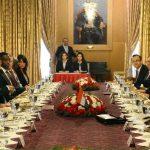 Sefef Atam – Kamerun Cumhurbaşkanı Paul Biya'nın TBMM Başkanı Cemil Çiçek ile görüşmesi 2014