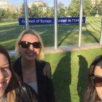 Ebru Kanık, Bahar Çotur, Ezgi Ünlüer Baglieto – Avrupa Konseyi, Strazburg