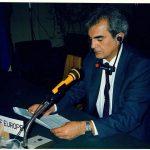 80'li yıllarda simültane çeviri dinleyen bir delege (1982)