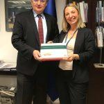 TKTD'nin AB Delegasyonu Başkanı Büyükelçi Christian Berger'i ziyareti