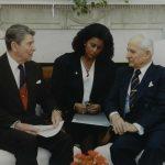 Zeynep Bekdik – ABD Devlet Başkanı Ronald Reagan ile Cumhurbaşkanı Kenan Evren görüşmesi (1988)