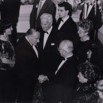 Zeynep Bekdik – Almanya Cumhurbaşkanı Richard von Weizsacker ile Cumhurbaşkanı Kenan Evren görüşmesi(1988)