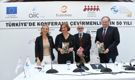 Bu Kulaklar Neler Duydu TKTD Türkiye'de Konferans Çevirmenliğinin  50 Yılını Ölümsüzleştirdiği Kitabını Basına Tanıttı