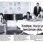 32-Serra Yılmaz Erbakan'a Tercüman Oldu (1990'lı Yıllar)