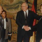 Zeynep Bekdik, Kenan Evren, Helmut Kohl (1980'li Yıllar)