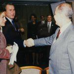 Hande Güner, George W. Bush, Ahmet Necdet Sezer (2002)