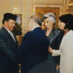 Esra Özsoy Kaya – Malezya Kralı Tuanku Syed Siraceddin, Ahmet Necdet Sezer, İKÖ Zirvesi (2003)