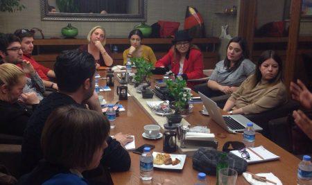 TKTD, Ankara'da Meslektaşlarıyla Buluştu